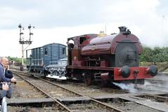 PS 2004 @ Tyseley Locomotive Works (ianjpoole) Tags: peckett sons 2004 percy tyseley locomotive works