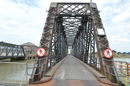 Vehicular bridge at Tilbury