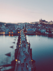 Praga de mis sueños <3 (www.juliadavilalampe.com) Tags: prague praha bokeh sunset life city urban castle palace europe travel destination