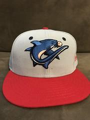 2017 Clearwater Threshers Alternate Hat (black74diamond) Tags: 2017 clearwater threshers alternate hat