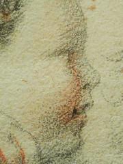 RUBENS (d'Après BUONARROTI Michelangelo) - Le Prophète Zacharie, Chapelle Sixtine (drawing, dessin, disegno-Louvre INV20229) - Detail 45 (L'art au présent) Tags: art painter peintre details détail détails detalles painting paintings peinture peintures peinture17e 17thcenturypaintings tableaux louvre museum paris france peinturehollandaise dutchpaintings dutchpainters peintreshollandais peterpaulusrubens peter paulus petrus pieter rubenes rubbens michelange sistinechapel copie copy study étude after sanguine redchalk prophet bible ancientestament oldtestament figures personnes people pose model portrait portraits face faces visage man men hommes boy littleboy garçon enfant kid kids child children livre book barbe beard zechariah zacharias zakariya