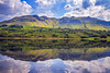 Glencar Lake. (padraig thornton) Tags: glencar lake mountains colorful blue green sky clouds water nature natural light landscape reflection canon 7d outdoor padraig thornton manorhamilton coleitrim ireland countryside padraigjosephthorntongmailcom greatphotographers bestcapturesaoi