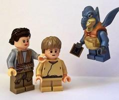 Shmi Skywalker (OB1 KnoB) Tags: lego star wars minifigure custom watto shmi anakin young skywalker episode 1 i phantom menace