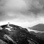 On top - Connemara, Ireland - Black and white street photography thumbnail