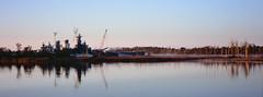 USS North Carolina - Velvia 100 (magnus.joensson) Tags: usa american north carolina nc wilmington visitusa xpan hasselblad boat fuji velvia 100 24x65 e6 90mm polarizer