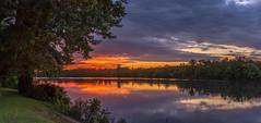 _DSC0035-Pano (johnjmurphyiii) Tags: clouds connecticut connecticutriver cromwell dawn originalnef riverroad riverportpark sky summer sunrise tamron18270 usa johnjmurphyiii