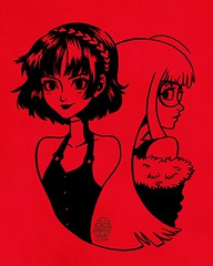 BurpDoodle: Makoto & Futaba from Persona 5SPOILER?? I relate to both of them in different aspects: Makoto for family expectations and pressure, to be the best I can as a student at school and the belief that I should dedicate my life to that rather than a (TripleUinfinity) Tags: burpdoodle fanart persona 5 makoto niijima futaba leonieyue
