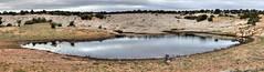 Morning at Lower Reservoir (Chief Bwana) Tags: az arizona vermilioncliffs pariaplateau navajosandstone lowerreservoir brainrock psa104 panorama chiefbwana 500views