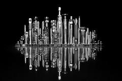 La ciudad (osruha) Tags: ciudad ciutat city panorámica panorama skyline horizonte horitzó tornillos cargols screws futuro futur future composición composició composition blancoynegro blancinegre blackandwhite bn bw monocromo monocrom monochrome nikon nikonistas d750 flickr