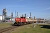 DBC 6430 met keteltrein, Botlek, 25-03-2017 (Michael Postma) Tags: db cargo 6430 welplaatweg vopak botlek bediening keteltrein