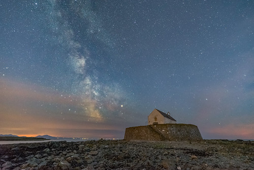 'Stars In The Bay' - Porth Cwyfan, Anglesey