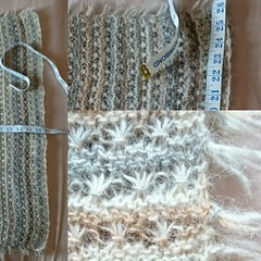 013 To sum up... (siouxian) Tags: daisystitch scarf einband lace