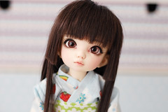 New face-up for Hisame ♥ (Lunelle♥) Tags: fairyland littlefee ltf pipi bjd ball jointed doll