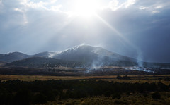 Smokey Mountain (JasonCameron) Tags: wildfire smoke mountain desert wilderness burn sky cloud sun storm shine