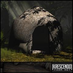 [Kres] Farm Hut ([krescendo]) Tags: 25l 25ltueday roleplay fantasy gorean house hut rustic oldfashioned farmhut pagan viking torvie tuesday 25ltuesday
