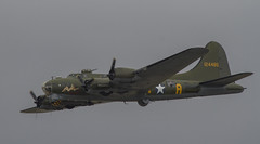 Boeing B-17 Flying Fortress (Hawkeye2011) Tags: uk 2017 fairford riat aircraft aviation airshow boeing b17 flyingfortress military bomber usaac wwii sallyb