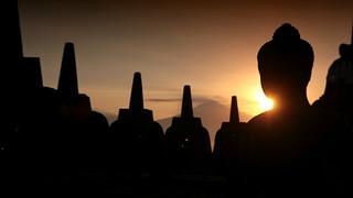 Borobudur Silhouette