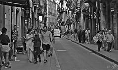 """Barcelona"" (giannipaoloziliani) Tags: urban urbanblackandwhite urbanstreet streetphotography nikoncamera nikon nikonphotography people metropoli metropolis europe centre citylife city monochrome monocromatico blackandwhite biancoenero spain spagna barcelona barcellona flickr"
