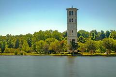 The Bell Tower at Furman University (ArmyJacket) Tags: upstatesc carolina lake mountains greenville pickens landscape furman university tower college landmark