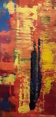 Earthquake 3 (Peter Wachtmeister) Tags: artbrut artinformel modernart popart abstrakt abstract surrealism hanspeterwachtmeister acrylicpaint