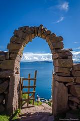 peru-5571 (Manolito Caceres) Tags: peru puno titicaca lake landscape sky gate iland arch nikon d7000
