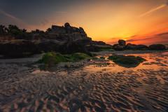 Kerfissien (Francois Le Rumeur) Tags: sunset beach ocean housse rocks 4k hd nikon landscape seascape paysage france bretagne brittany summer sand sable plage océan