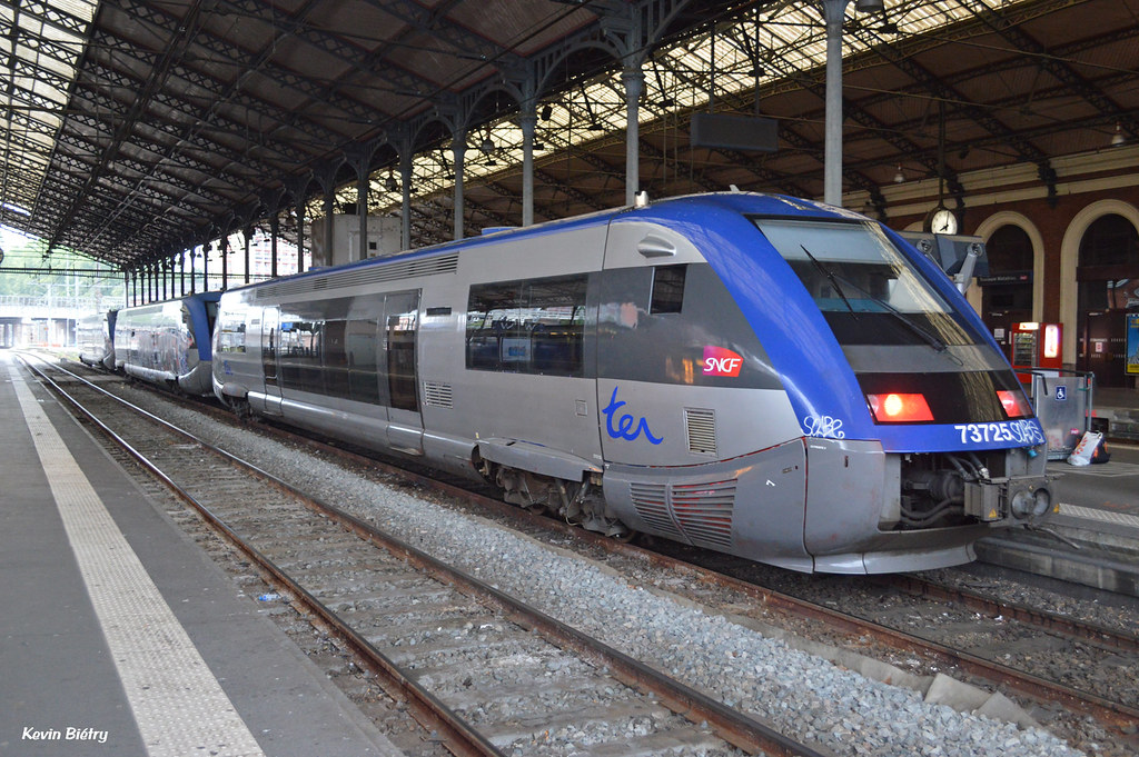 The world 39 s best photos of sncf and x73500 flickr hive mind for Ter toulouse