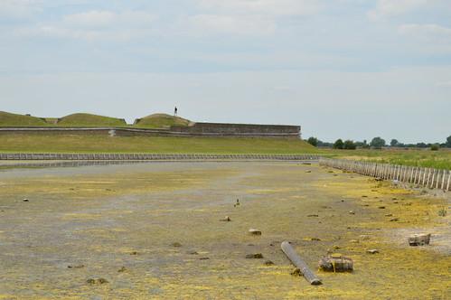 Tilbury Fort moats