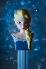 Queen Elsa of Arendelle (Legodude:)277) Tags: macromondays queen elsa frozen song lyrics bokeh blue