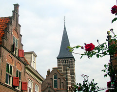 EDAM - Holland (silwittmann) Tags: holanda holland netherlands europa urban architecture historic oldcity europa2017 edam tower buildings flowers sky windows church paisesbaixos holandadonorte nederland noordholland