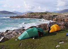 Rubha Romaigidh, Harris (Niall Corbet) Tags: scotland outerhebrides hebrides harris soundoftaransay coast sea rubharomaigidh tent camp camping hilleberg