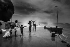 (ayashok photography) Tags: ayp1611 cwc chennaiweekendclickers dhanushkodi rameshwaram rameswaram sea seashore waves blackwhite h2o | தண்ணீர் h2o|தண்ணீர்தண்ணீர்