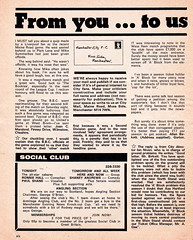 Manchester City vs Chelsea - 1974 - Page 6 (The Sky Strikers) Tags: manchester city chelsea maine road football league first division match magazine 10p