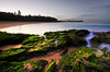 Winter Shadows (Gerry Ligon) Tags: warriewoodbeach beachsunset