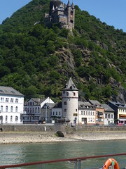 River Cruise Views Along the Rhine River in Germany (MisterQque) Tags: rhineriver rivercruise germantowns