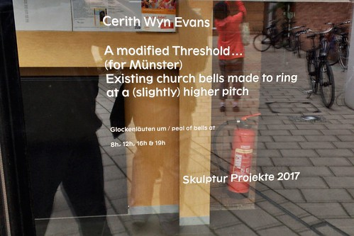 170716 031 St Stephanus Church - Cerith Wyn Evans, A Modified Threshold … (for Münster) Existing church bells made to ring at a (slightly) higher pitch