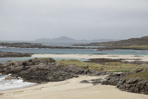 Sanna & Muck across the water