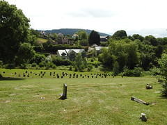 Monmouth Cemetery, Osbaston Road, Monmouth 12 July 2017 (Cold War Warrior) Tags: taphology cemetery graveyard monmouth monmouthshire