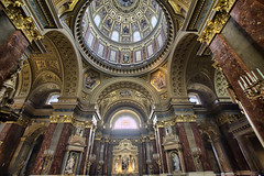 Budapest St. Stephen Basilica (Massimiliano Sciacco) Tags: hdr budapest saint stephen basilica church gold