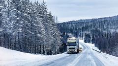Truck (Valter Patrial) Tags: transporte caminhão estrada rodovia floresta neve inverno finlândia lapônia ártico transport truck road highway forest snow winter finland lapland