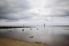 Irvine Bay (jpgrbeat) Tags: scotland ayrshire irvine longexposure slowwater sea seaside shore clouds nikond800 nd1000