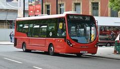 WS65 - 360 Royal Albert Hall (Gellico) Tags: go ahead london central wright streetlite ws65 route 360 royal albert hall