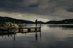 Kvällsfiske i Lövvik (RobT4L) Tags: canon canon7dmark2 canon7dmarkii canon24105 portrait porträtt nature natur sweden högakusten lövvik skärsätter sunset explore