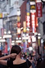 Shibuya Center Street (kurotango Clip) Tags: tokyo women shibuya street cityscape