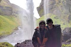 Kvernufoss falls (breic) Tags: anna iceland kathy kvernufossfalls skogar waterfall