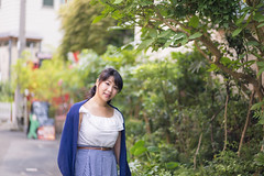 Young woman walking on city street (Apricot Cafe) Tags: img660972 asia asianandindianethnicities canonef85mmf18usm harajuku healthylifestyle japan japaneseethnicity tokyojapan beautifulwoman carefree charming cheerful colorimage day elegance enjoyment greencolor happiness horizontal lifestyles longhair lookingatcamera morning nature oneperson onlyjapanese onlywomen onlyyoungwomen outdoors people photography smiling softfocus street summer threequarterlength toothysmile walking women youngadult