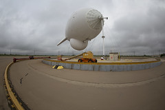 U.S. Customs and Border Protection, Air and Marine Operations, Tethered Aerostat Radar System (TARS), Eagle Pass, TX (CBP Photography) Tags: cbp customs border protection tars tethered radar system eagle pass