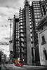 The No 25 runs past Lloyds of London (Through Bri`s Lens) Tags: london lloydsoflondon cityoflondon stainlesssteel brianspicer canon5dmk3 canon1635f4