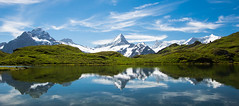 Alpine Reflection (Gordon Mackie) Tags: switzerland alps reflection bachalpsee grindelwald