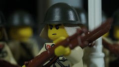 Lego Imperial Japanese Soldier (Force Movies Productions) Tags: war wwii world weapons wars empire lego helmet helmets gear second eastern behind rifles rifle toy toys trooper troops youtube army union custom guns gun ii minfig picture minifig military minifigure minifigs film firearms history sinojapanese fiction gimp soldier officer pose conflict cool movie soldiers stopmotion photograpgh photo photoshop photograph animation asia arisaka asian scene scenes frame japanese japan chinese china brickarms brickfilm brickmania brickizimo bricks nation moc